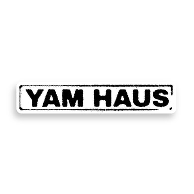 Yam Haus - Rectangle Logo Sticker