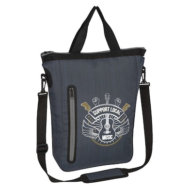Support Local Music - Water Resistant Sleek Bag