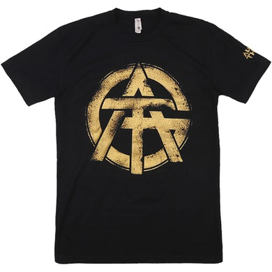 All Good Things - Black and Gold Logo Tee