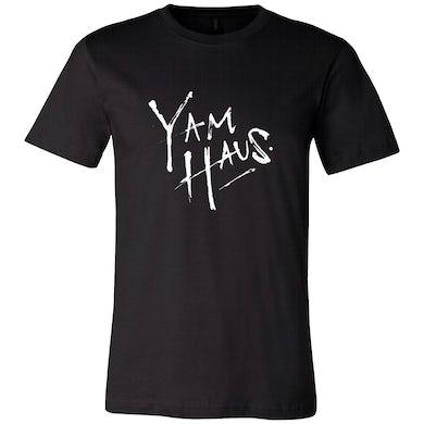 Yam Haus - Black Logo Tee