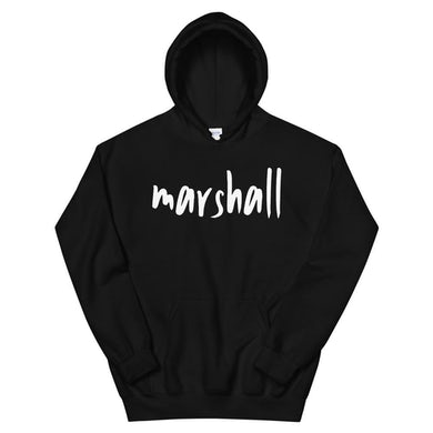 Marshall - Black Logo Hoodie