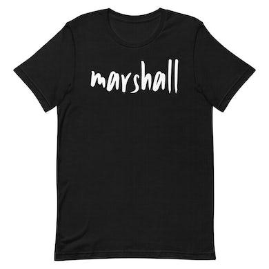 Marshall - Black Logo Tee