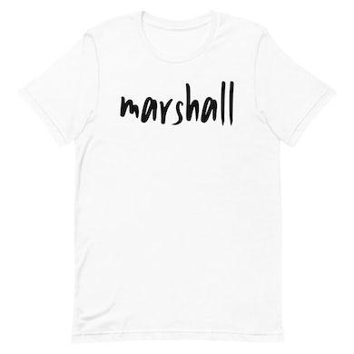Marshall - White Logo Tee