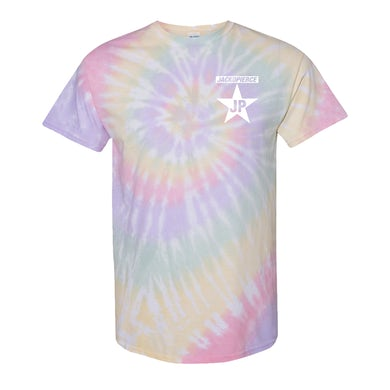 Pastel Rainbow Tie-Dye Original Logo Tee
