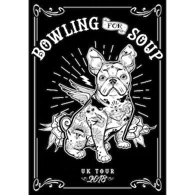 Bowling For Soup - Sherman 2018 UK Tour Poster