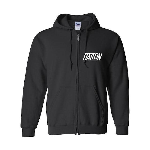Dalton Rapattoni - Logo Zip Hoodie (Black)