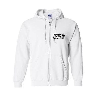 Dalton Rapattoni - Logo Zip Hoodie (White)
