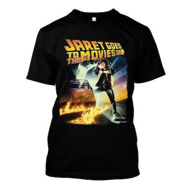Jaret Reddick Jaret Goes To The Movies - Back To The Future Logo Tee