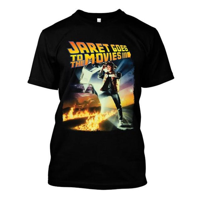 Jaret Reddick Jaret Goes To The Movies - Back To The Future Logo Tee