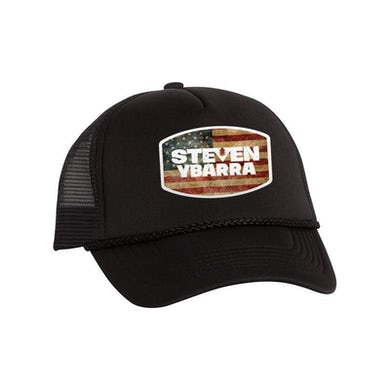 Steven Ybarra - American Flag Trucker Hat