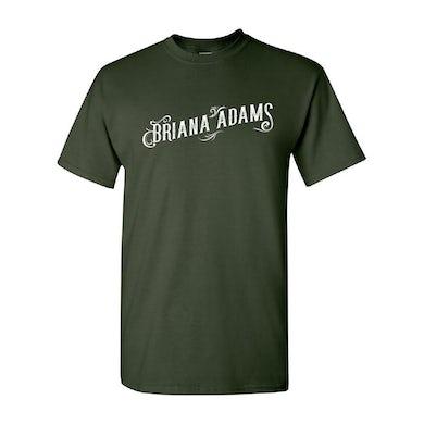 Briana Adams - Logo Tee (Forest Green)