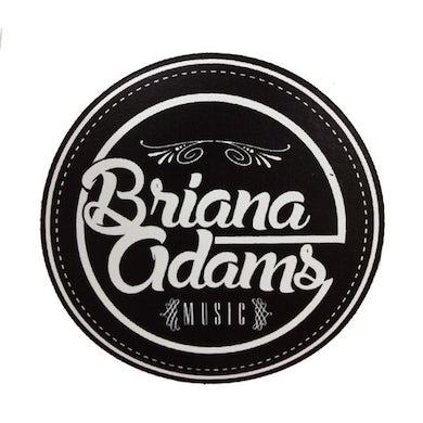 Briana Adams - BAM Logo Sticker