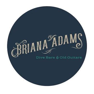 Briana Adams - Dive Bars & Old Guitars EP CD
