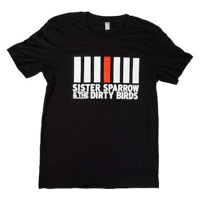 Sister Sparrow and the Dirty Birds - Logo Tee (Black)