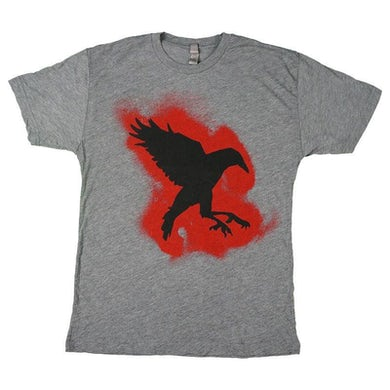 Sister Sparrow and the Dirty Birds - Pound of Dirt Crow Tee (Heather Grey)