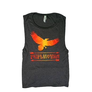 Sister Sparrow and the Dirty Birds - The Weather Below Womens Tank