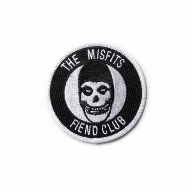 The Misfits Fiend Club Iron-On Patch