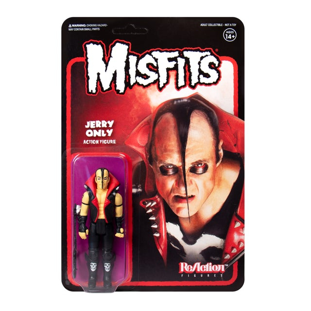 """""""Jerry Only"""" Misfits 3.75"""" ReAction Figure"""
