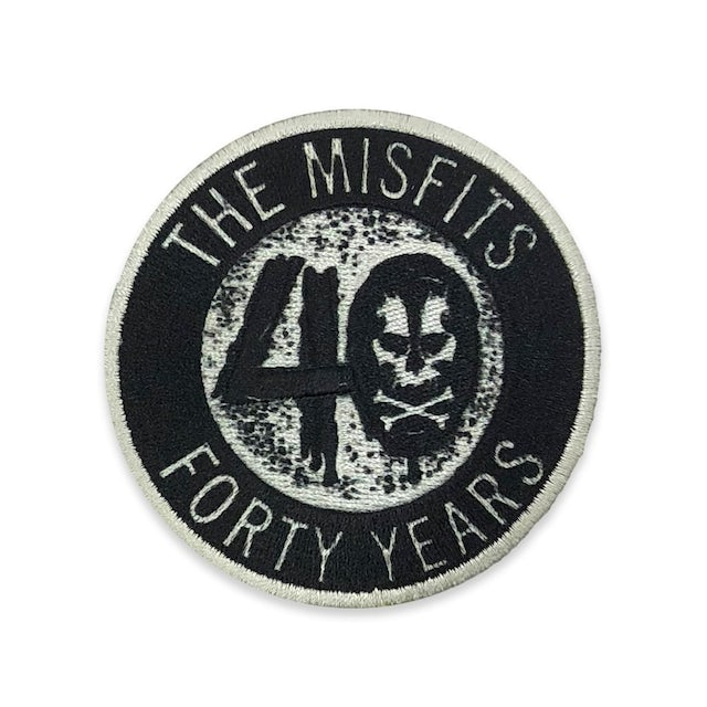 """The Misfits """"40 Years"""" Patch"""