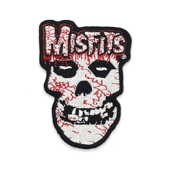 """The Misfits """"Bloody Skull"""" Patch"""
