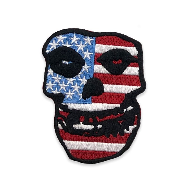 """The Misfits """"USA Skull"""" Patch"""