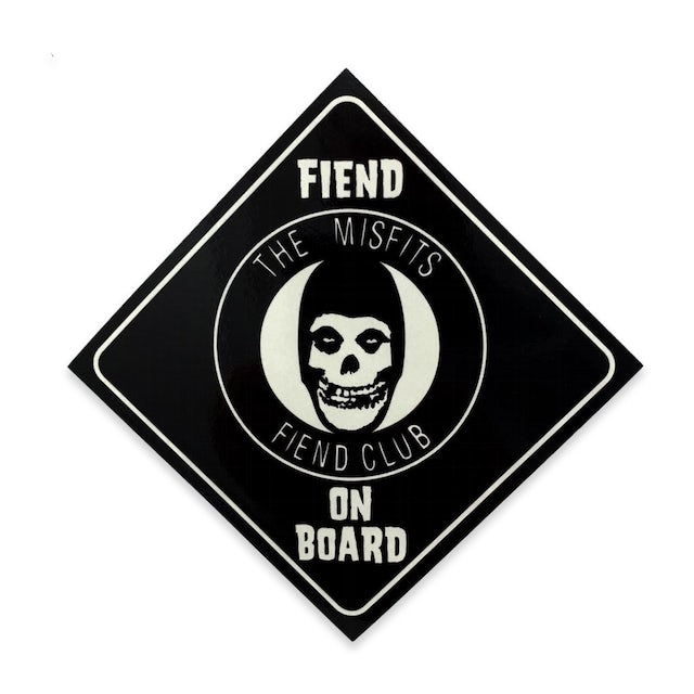 "The Misfits ""Fiend On Board"" Sticker"