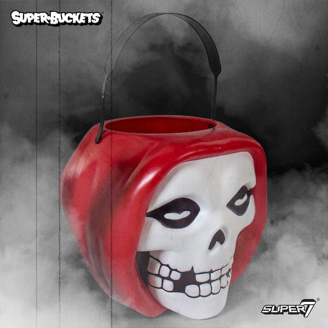 """The Misfits Fiend"""" SuperBucket (Red)"""