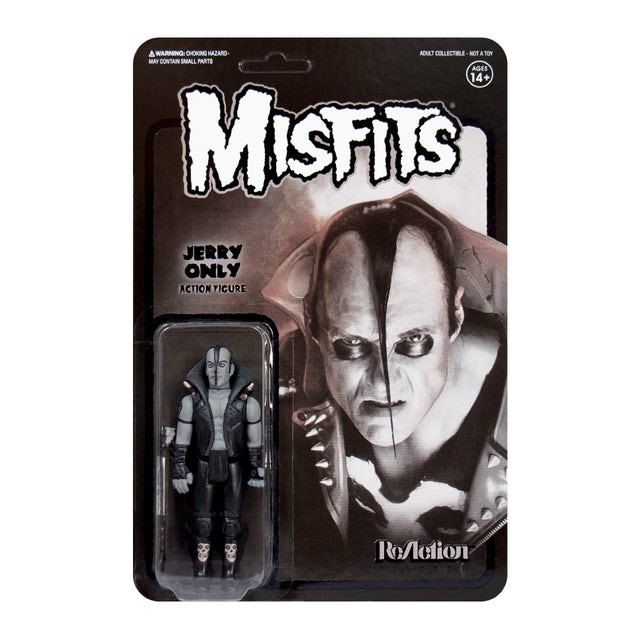 """""""Jerry Only"""" Black Series Misfits 3.75"""" ReAction Figure"""
