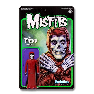"'Crimson Red' Misfits Fiend 3.75"" ReAction Figure"