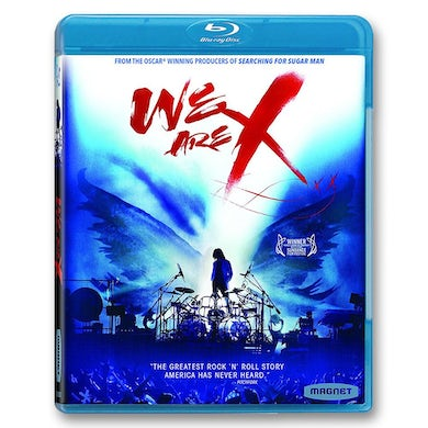 X Japan We Are X Blu-ray