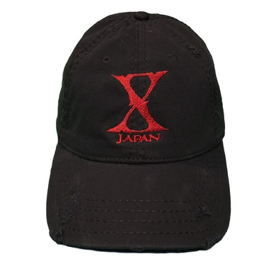 X Japan Distressed Cap