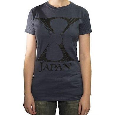 X Japan Crashed Ladies T-Shirt