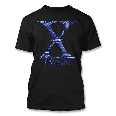 X Japan Blue Waves T-Shirt