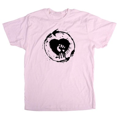 Rise Against Heartfist Toddler T-Shirt - Pink