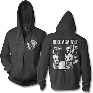 Rise Against Studio Photo Zip Hoodie