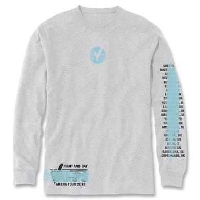 The Vamps Logo Paint Long Sleeve Shirt