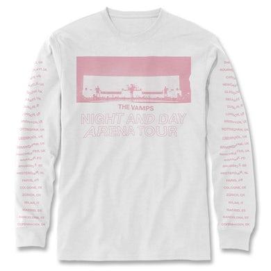 The Vamps Live Tour Long Sleeve Shirt (Pink Print)