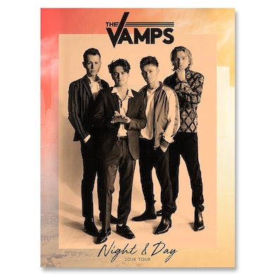 The Vamps Night & Day 2018 Poster