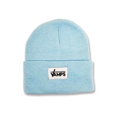 The Vamps Baby Blue Woven Label Beanie
