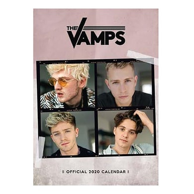 The Vamps 2020 Calendar