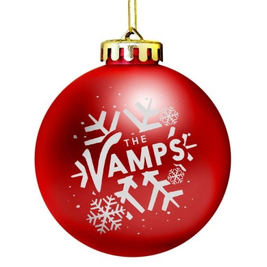 """The Vamps """"Let It Snow"""" Holiday Ornament"""