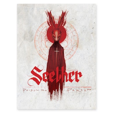 Seether Signed Poison the Parish Poster