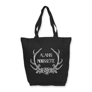 Alanis Morissette Antlers Tote Bag