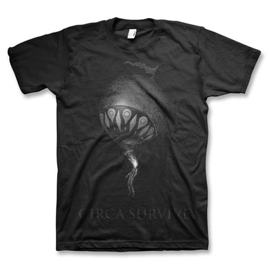 Circa Survive Black On Black On Letting Go T-Shirt