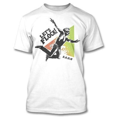 Eagles Of Death Metal Let's Flock T-Shirt (White)