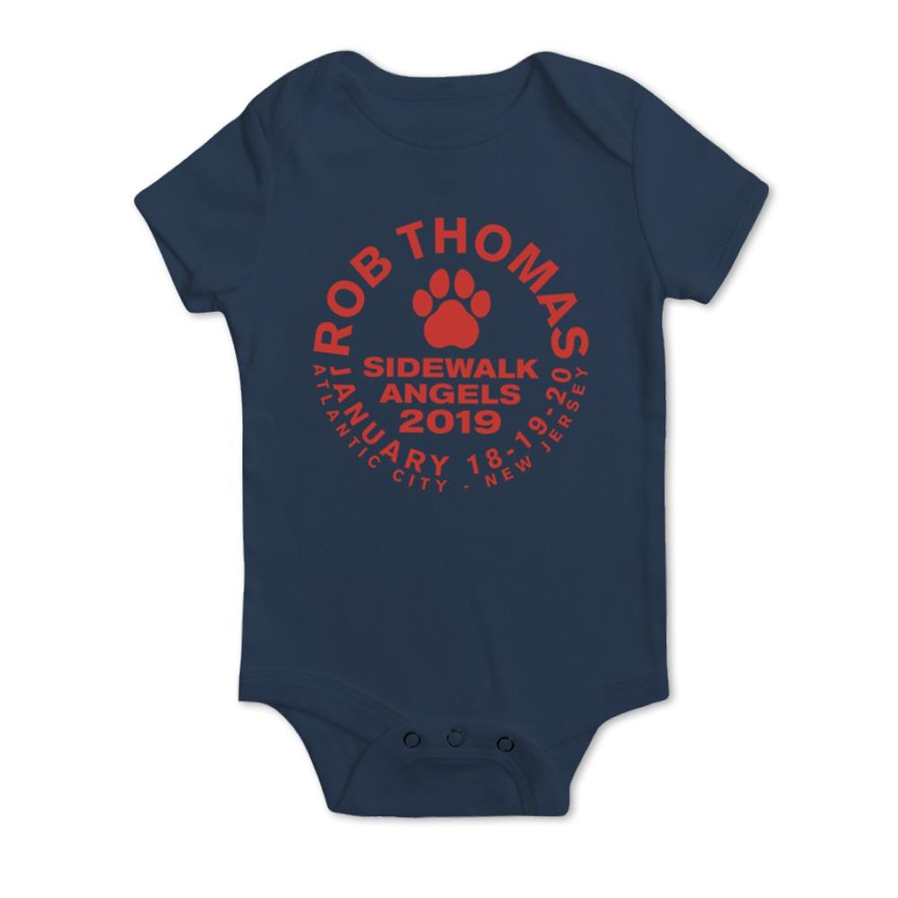 25ceaa4f0 Rob Thomas Paw Emblem Baby Onesie