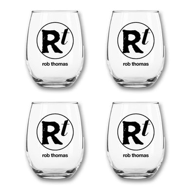 Rob Thomas Wine Glass Set