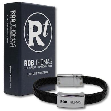 Rob Thomas The Great Unknown USB Wristband