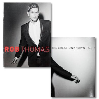 Rob Thomas The Great Unknown Tour Program