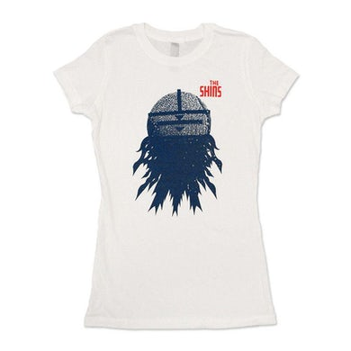 The Shins Mask Collage Womens T-Shirt